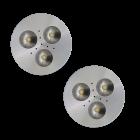 SH02 Solar Puck Shelter Light (2 or 3 Fixtures)