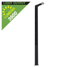 SL21 Solar 36W LED Street/Parking Lot Light (With Pole)