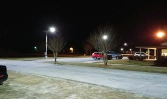 Street Lights versus Lamp Posts