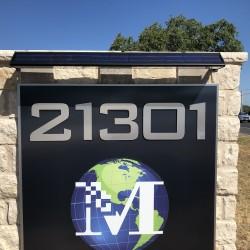 FL150 Tri-Shape Solar Sign Light