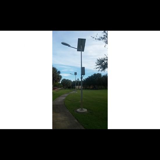 SL12 Solar Street Light 10W / 15W / 20W / 25W (With Pole)