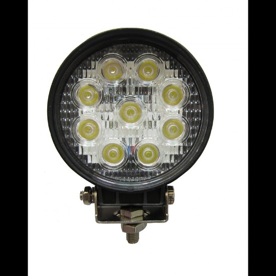 CP08 27W LED High-Power Spot Light Fixture (For Custom Built Systems)