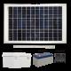 FL120 Solar Mini Light Bar Sign Light (1-4 Fixtures)