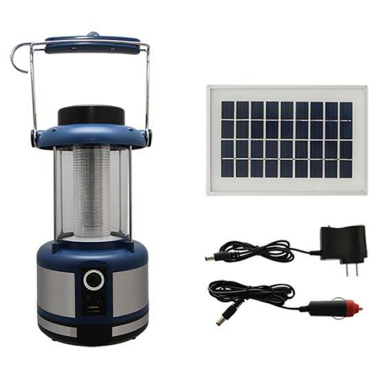 IL05 Solar 36 LED Portable Lantern With Cell Phone Charger