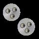 SH02 Solar Indoor Puck Light (2 or 3 Fixtures)