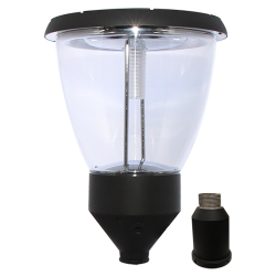 PO10 Solar Lamp Post Light 4W (With Pole)
