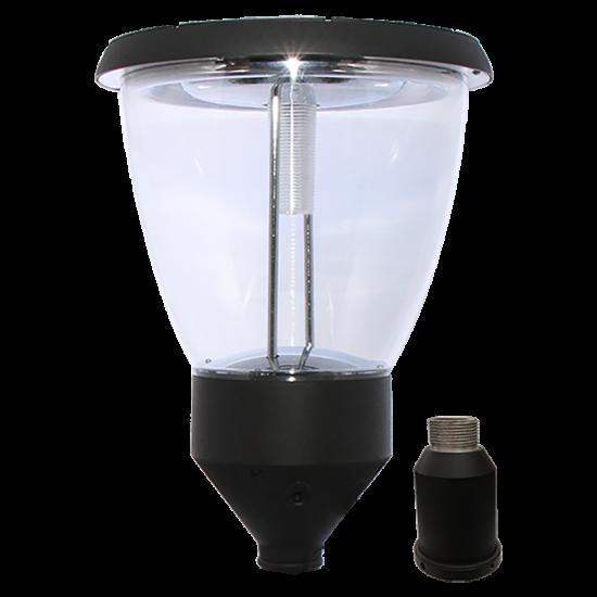 PO10 Solar Lamp Post Light 4W (With Pole)
