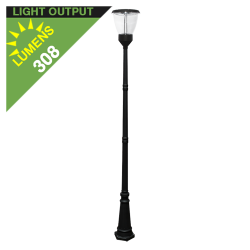 PO04 Solar Lamp Post Light 4W (With Pole)