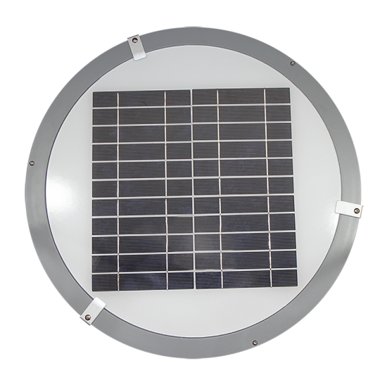 PO14 Solar 9W LED Area Light (With Pole)