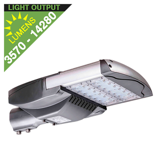 SL35 Solar 35W/65W/100W/135W LED Parking Lot Light (Without Pole)