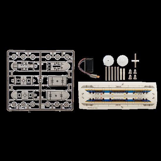 ST01 Solar Educational Model Bullet Train Kit