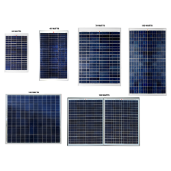 CD04 Selection of Solar Panels (For Custom Built Systems)