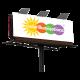 GT01 Grid-Tied Solar Billboard Power System