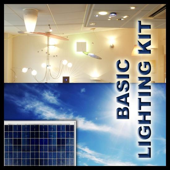LK01 Solar Indoor Light System (Basic Lighting Kit)