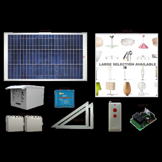 LK02 Solar Indoor Light System (Standard Lighting Kit)