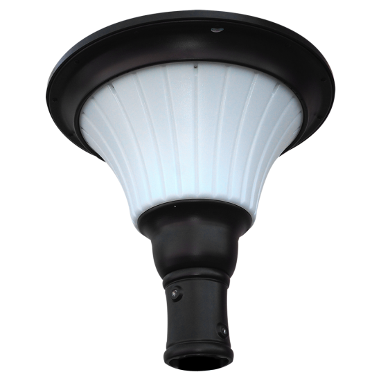 PO18 Solar Pole Top Light (With 10' Pole)
