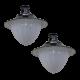 SL22 Solar Parking Lot Light Double Lamp (With Pole) 10W/12W/15W