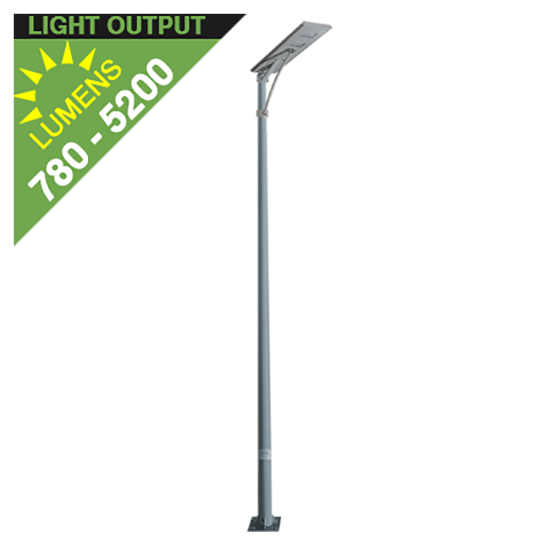 SL29 15W Solar Area Light (With Pole) - Summer Special