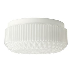 HL52 Solar LED Ceiling Light (With Lampshade)
