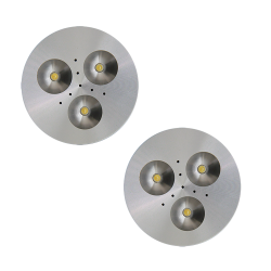 SH02 Solar Indoor Puck Light (2 or 3 Fixtures)