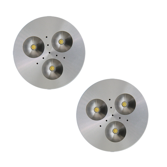 SH02 Solar Puck Shelter Light (2 or 3 Fixtures)