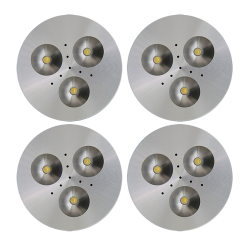 SH04 Solar Indoor Puck Light (5 or 6 Fixtures)