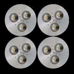 SH03 Solar Indoor Puck Light (4 or 5 Fixtures)