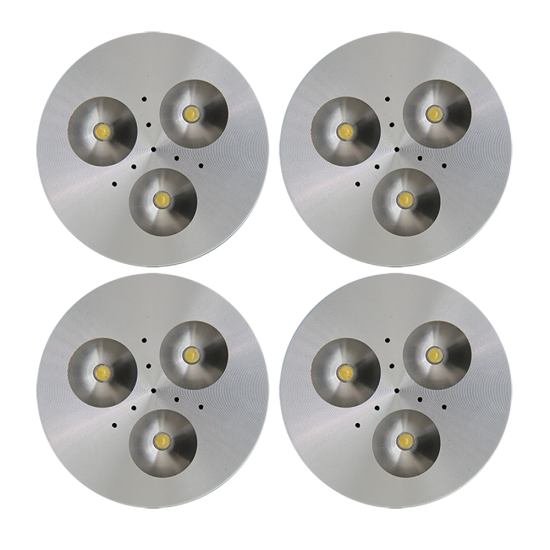 SH03 Solar Indoor Puck Light (4 or 5 Fixtures)