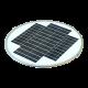 PO16 Solar 30W LED Area Light (With Pole)