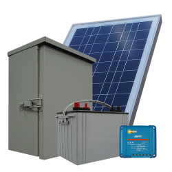 RS01 Remote Solar Power System - 75Wh/Day
