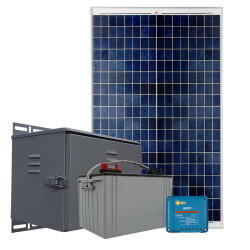 RS03 Remote Solar Power System - 300Wh/Day