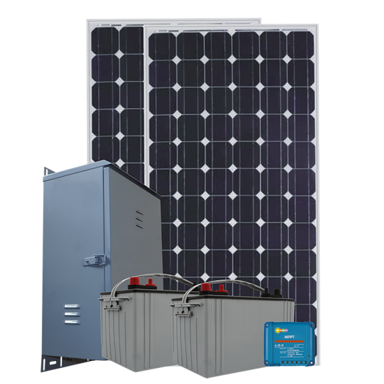 RS05 Remote Solar Power System - 750Wh/Day