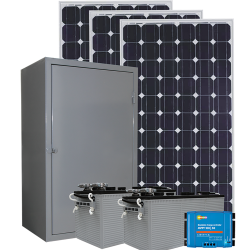 RS06 Remote Solar Power System - 1400Wh/Day