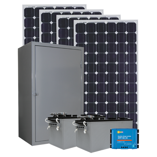 RS07 Remote Solar Power System -  Custom
