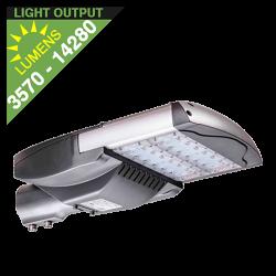 SL35 Solar 35W/65W/100W/135W LED Street/Parking Lot Light (Without Pole)