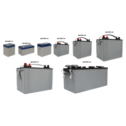 CD02 Selection of Rechargeable Batteries (For Custom Built Systems)