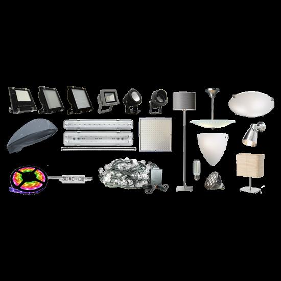 CD05 Selection of Solar LED Light Fixtures (For Custom Built Systems)