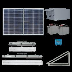 FL20 Solar Indoor Light System (4 Fixtures)