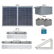 FL20 Solar Bus Shelter / Transit Light System (4 Fixtures)