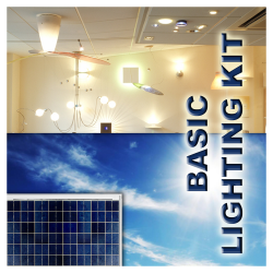 LK01 Solar Indoor Light System (Basic Lighting Kit)