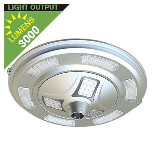 PL13 Solar 30W LED Area Light (Without Pole)