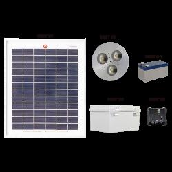 SH01 Solar Indoor Puck Light (1 or 2 Fixtures)