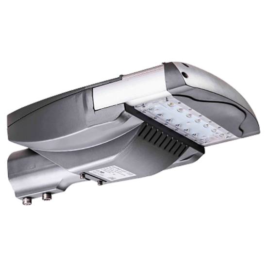 SL36 Solar Double 35W/65W LED Street/Parking Lot Light (With Pole)